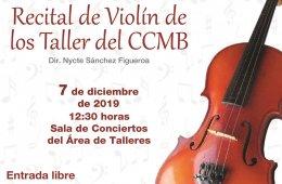 Recital de Violín CCMB