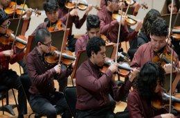 Violin Recital   Carlos Chávez School Orchestra at the H...