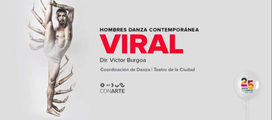Viral de Victor Burgoa en la Temporada de Danza CONARTE 2020