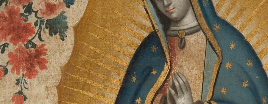 La Virgen de Guadalupe en el arte