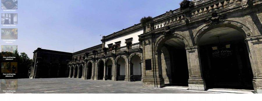 Conoce virtualmente el Museo Nacional de Historia Castillo de Chapultepec