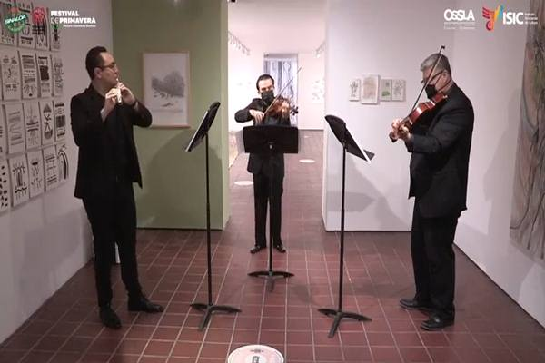 Virtuosos y Virtuales 2.0. Programa Músicos de la OSSLA en línea, No. 5