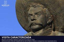 Visita Caracterizada. Emiliano Zapata