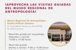 Visitas guiadas al Museo Regional de Antropología