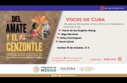 Voces de Cuba (Muestra artística)