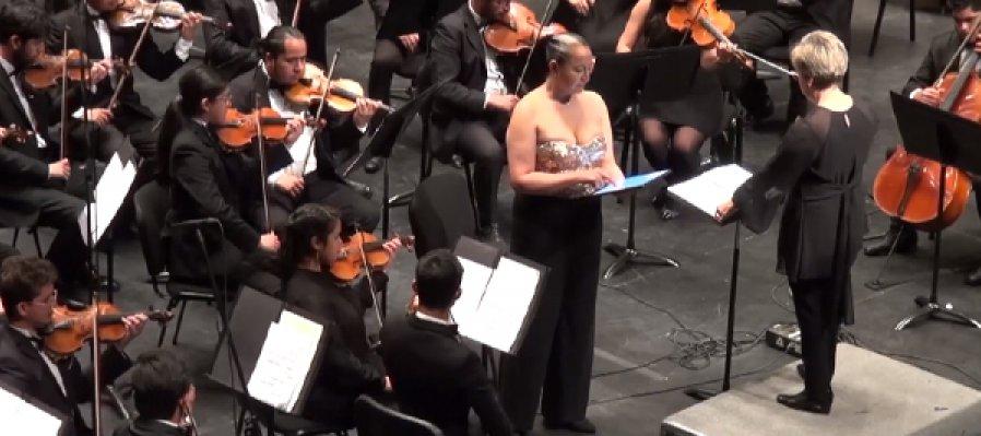 Concierto del poema sinfónico: Vuela. Homenaje al águila real