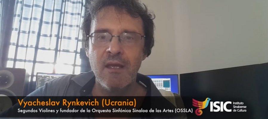 Vyacheslav Rynkevich, segundo violines de OSSLA con Tarantella, de arreglos propios