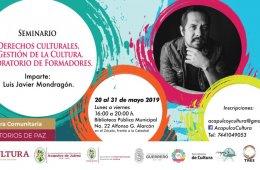 Seminario de Derechos Culturales y Gestión de la Cultura...