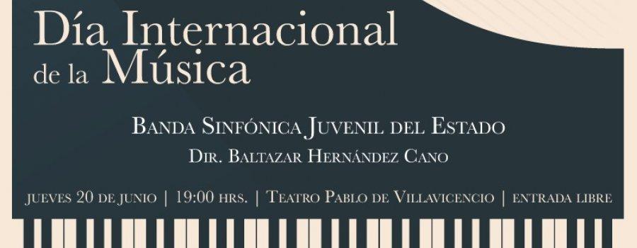 Concierto de Gala por el Día Internacional de la Música