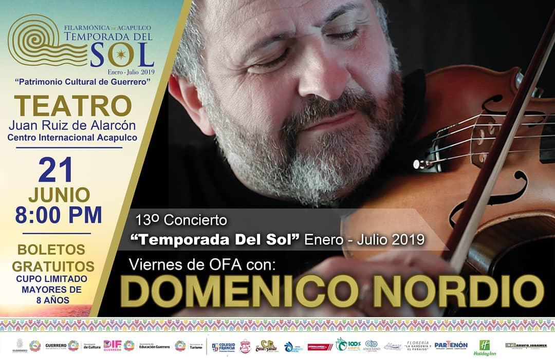 Friday for Acapulco Philharmonic Orchestra with Domenico Nordio
