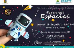 Papercraft Espacial