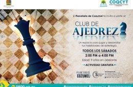 Octubre. Club de Ajedrez