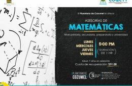 Asesoría de matemáticas