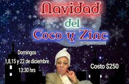 La Navidad del Coco y Zinc.