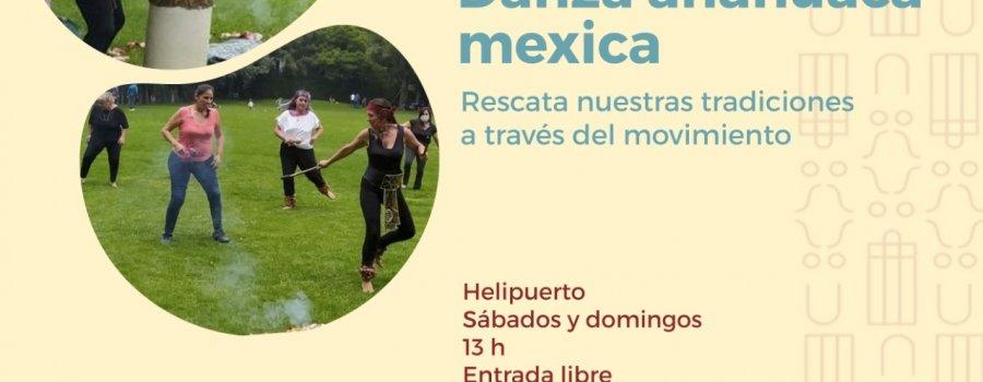 Taller de danza Anahuaca mexica
