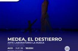 Medea, El Destierro