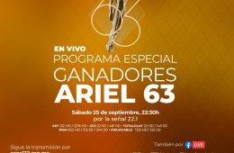 Ganadores del Ariel 63