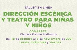 Dirección escénica y teatro para niñas y niños
