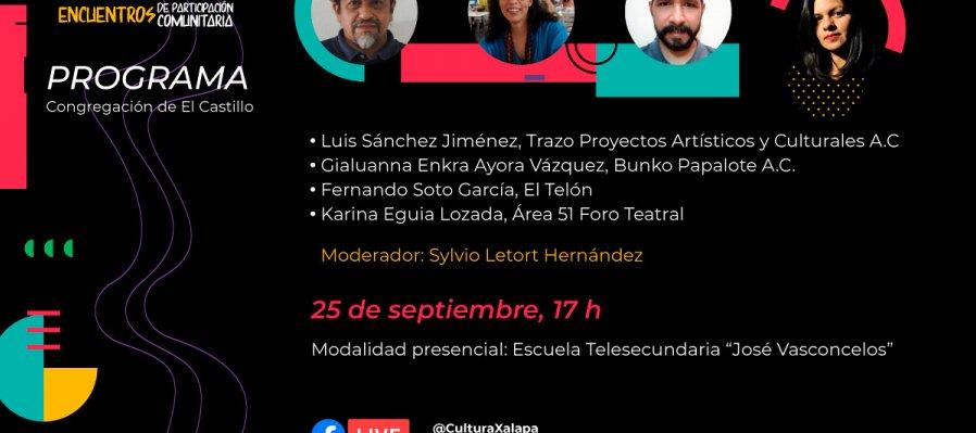 Xalapa Viva. Encuentros de participación comunitaria 2021