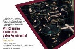 Premiación Concurso Nacional de Vídeo Experimental