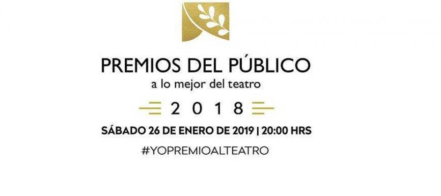 Premios del público a lo mejor del teatro 2018