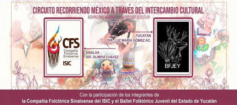Charla entre la Compañía Folclórica del ISIC y el Ballet Juvenil de Yucatán