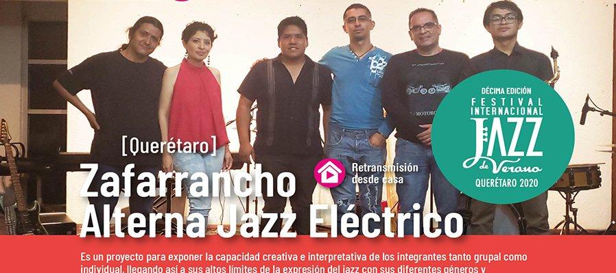 Zafarrancho Alterna Jazz Eléctrico