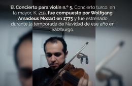 Cadenza para el Concierto no. 5 de Wolfgang Amadeus Mozar...
