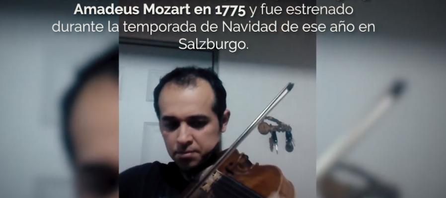 Cadenza para el Concierto no. 5 de Wolfgang Amadeus Mozart