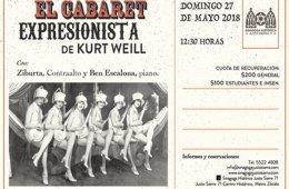 El Cabaret Expresionista de Kurt Weill