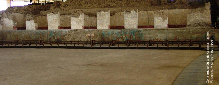 Zona Arqueológica de Cacaxtla, Tlaxcala
