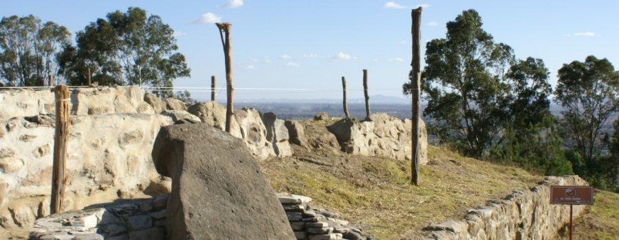 Zonas arqueológicas de Cacaxtla y Xochitecatl. Tlaxcala