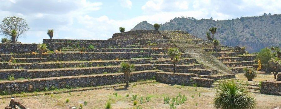 Zona arqueológica de Cantona