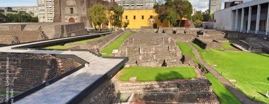 Tlatelolco, donde se unen las tres culturas. Ciudad de México