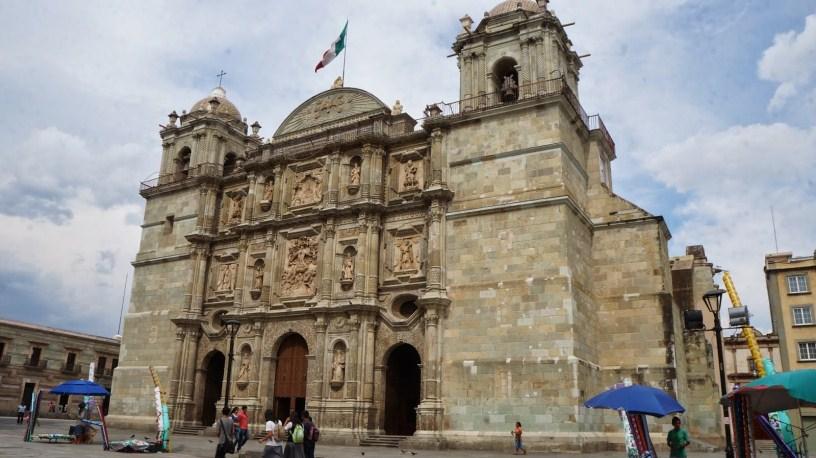 catedral la asunción de oaxaca
