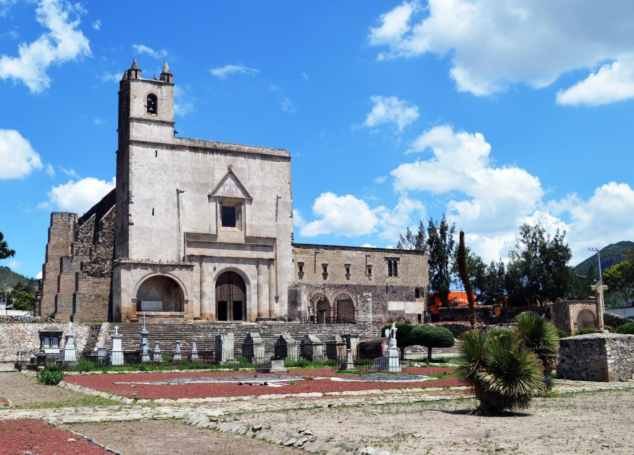 Templo y Ex Convento de San Andrés Apóstol, Epazoyucan